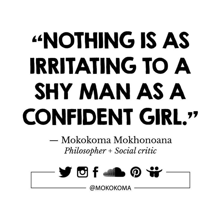 SUBSCRIBE TO GET MY NEW APHORISMS (A WEEK OR TWO BEFORE I SHARE THEM ANYWHERE) VIA EMAIL (ONCE OR TWICE A MONTH): http://mokokoma.com/newsletter ——— #quotations #aphorisms #aphorism #quotation #quote #quotes #joke #jokes #sayings #saying #satire #humour #humor #funny #quoteoftheday #mokokoma #mokokomamokhonoana #shy #shyness #confident #confidence #introvert #extrovert