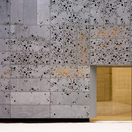 Détails Architecturaux <3 Le Pamphlet | béton perforé