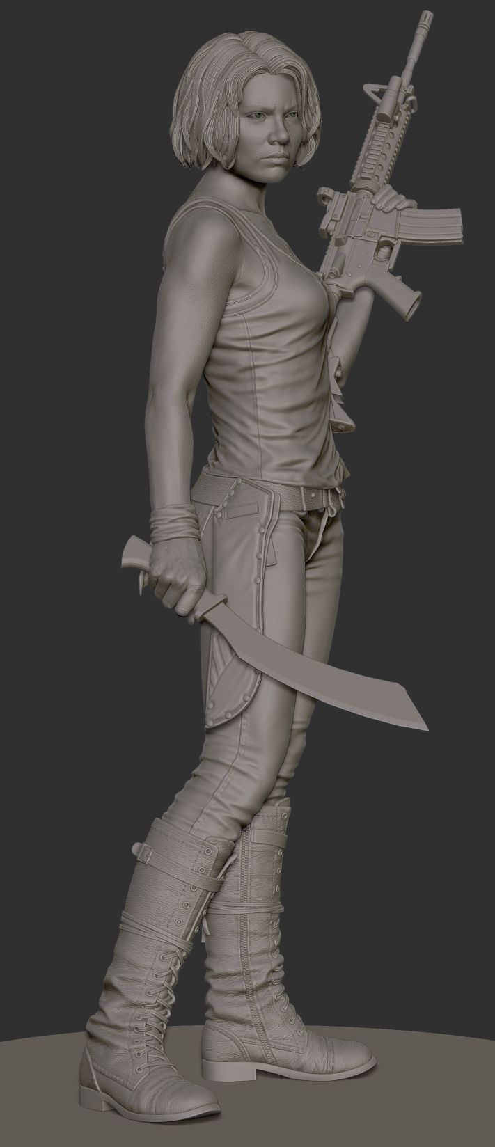 http://www.zbrushcentral.com/showthread.php?151792-Will-Harbottle-Digital-Sculpt-Thread/page22
