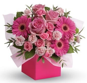 Think Pink - Flower Arrangement