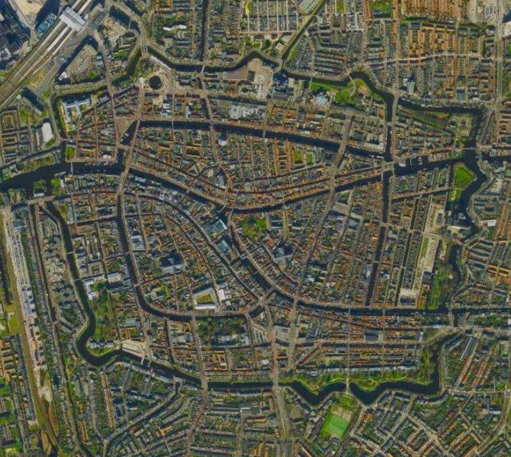 Netherlands Ns Map%0A Leiden The Netherlands