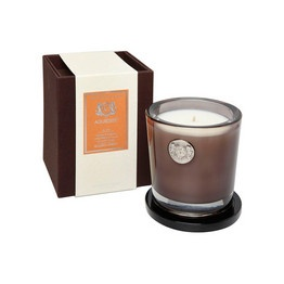 Aquiesse Golden Amber large candle
