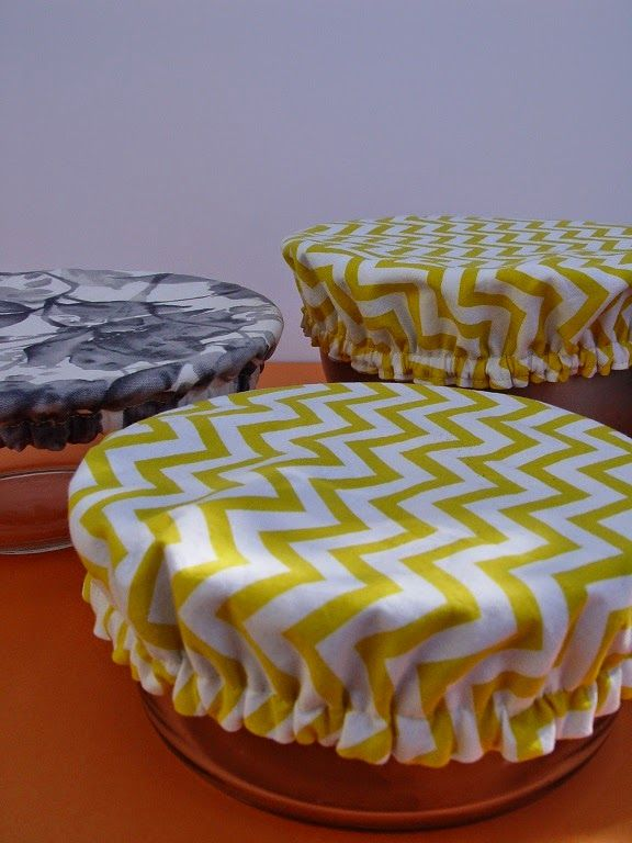 THE SEWING DORK: How to Sew Fabric Bowl Covers