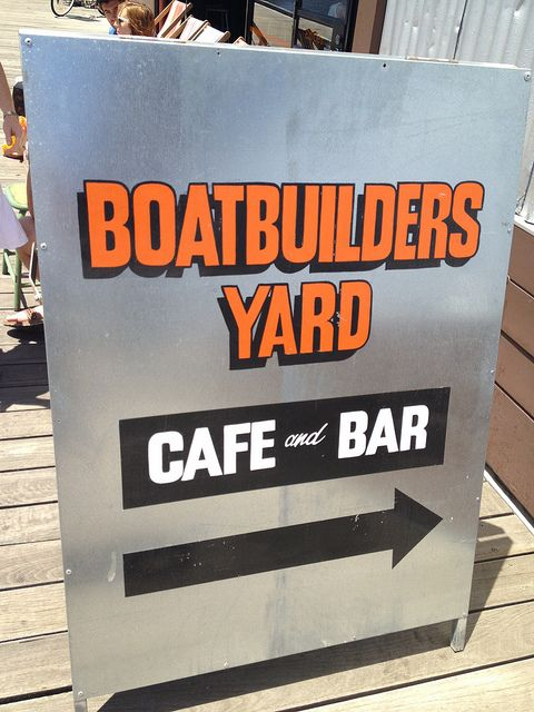 The Boatbuilders Yard signage #swpromenade #melbourne #pub