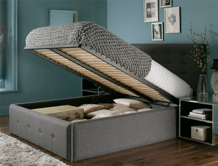 Mayfair Upholstered Ottoman Storage Bed Beds