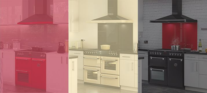Fiery Red, Classic Cream or Elegant Black. Which Richmond rangehood you will    use for a statement of your own?