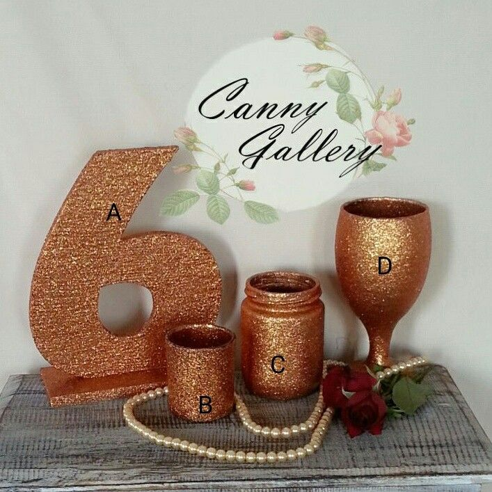 Gold wedding decoration. Order : cannygallery@yahoo.com