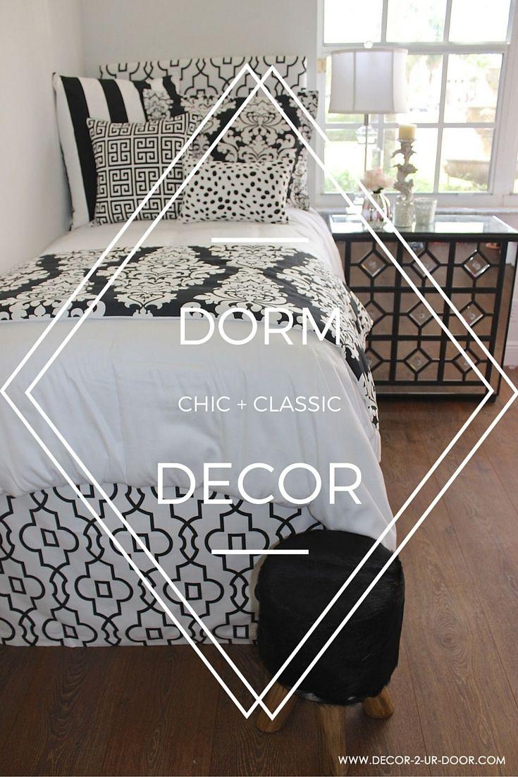 Black Dorm Room Bedding Is This Yearu0027s Hottest Trend. Decor 2 Ur Door  Offers Pre Designed Black Dorm Room Bedding Sets That Fit Your U Part 96