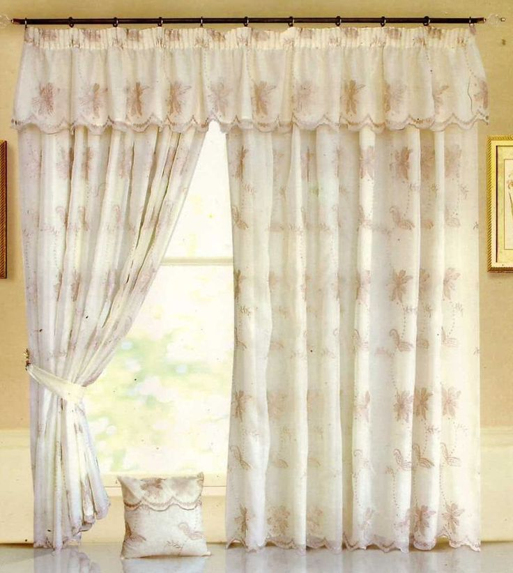 Cream Bedroom Blackout Curtains