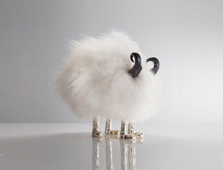 This little guy goes by the name Gringo Starr and is part of the Haas Brothers Mini Beast collection...