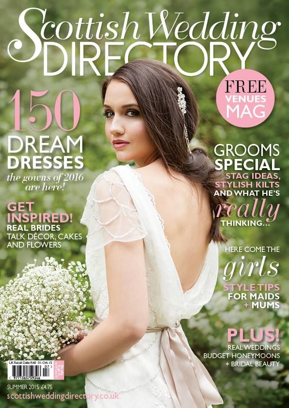 Scottish Wedding Directory, The Vintage Wedding Show, Drygate, Sunday 11th October, Glasgow, 11am-4pm AND Norwood House Hotel, Sunday 18th October, Aberdeen, 11am-4pm AND Waldorf Astoria Edinburgh - The Caledonian on Sunday 25th October, 11am-4pm