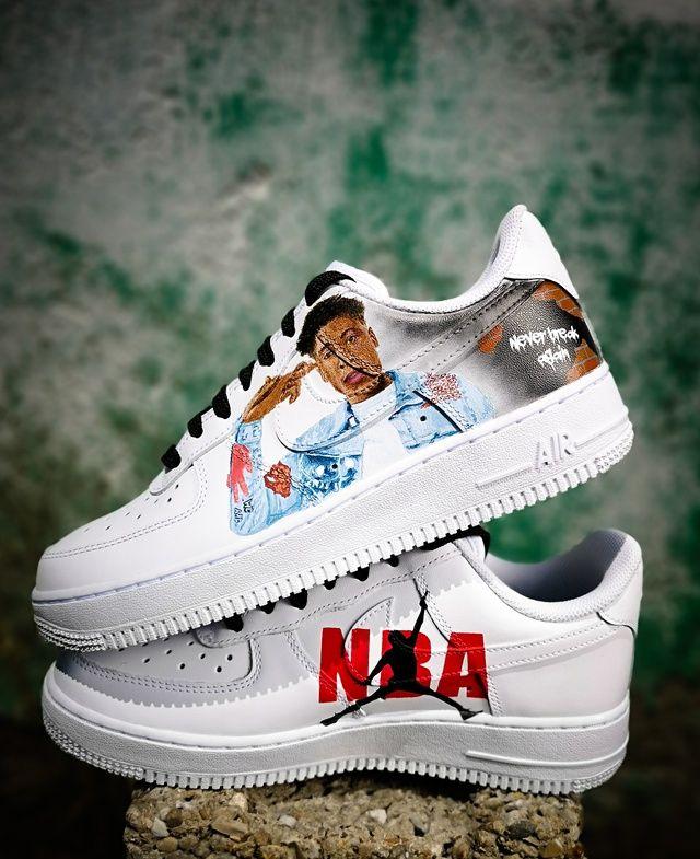 Custom Nike Air Force 1 'NBA YoungBoy
