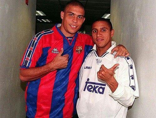 Ronaldo y Roberto Carlos