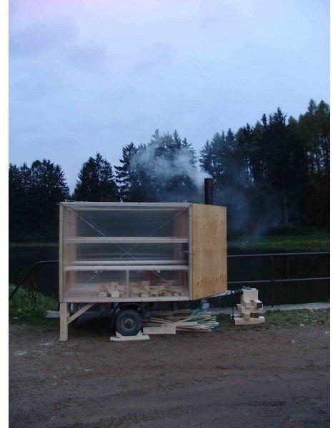 Traveling Sauna