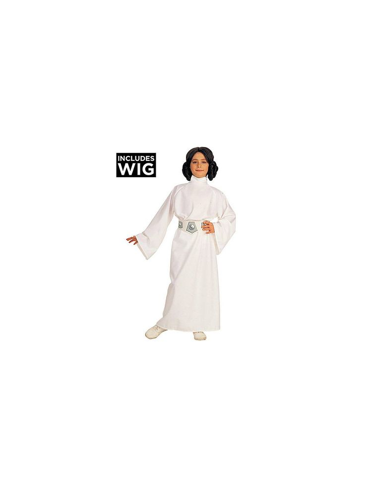 Become a key part in defeating the Empire with the Deluxe Princess Leia Children's Costume at your Star Wars themed party.