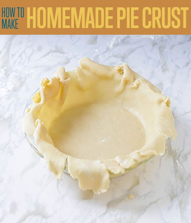 How to Make Homemade Pie Crust by DIY Ready at www.diyready.com/pie-crust-recipe-even-beginners-can-make/