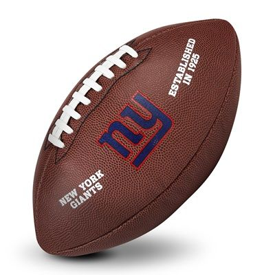 New York Giants Game Logo Football:  New York Giants Game Logo Football   As the makers of the official NFL Game Day Ball since 1941, we…