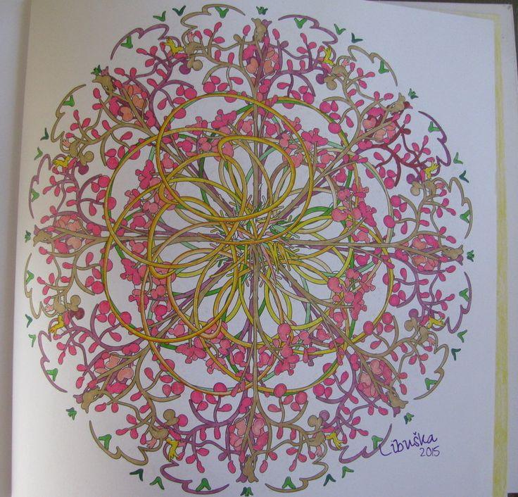 Het Enige Echte Mandala Kleurboek Deel 1