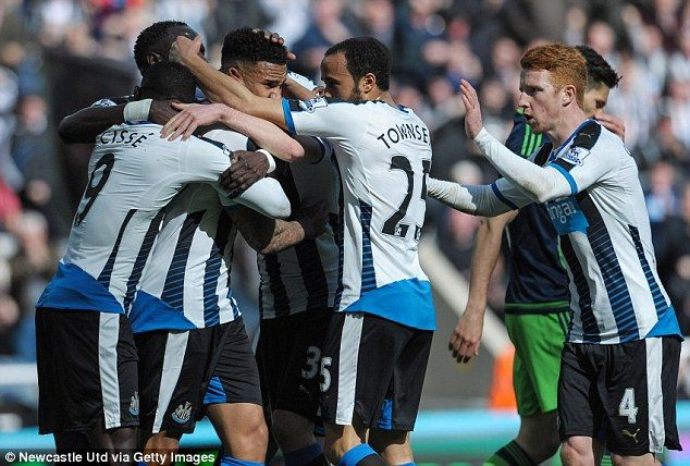 Newcastle gave themselves hope in their bid to beat the drop with a comprehensive win over Swansea