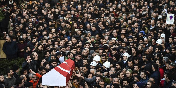 Turkey Mourns As Funerals Begin For Victims Of Istanbul Terror Attack #World #iNewsPhoto