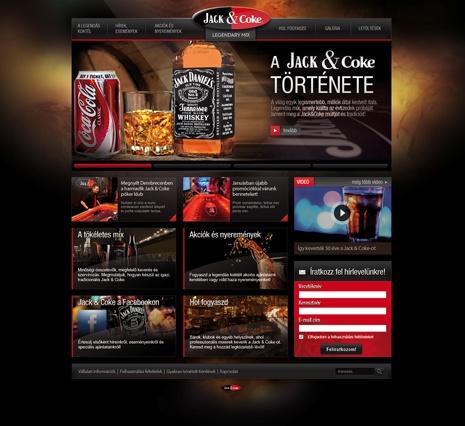 Jack&Coke design concept