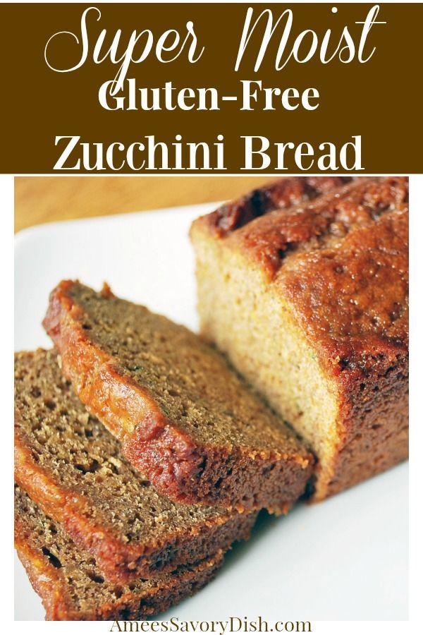 Gluten Free Zucchini Bread Recipe Gluten Free Zucchini Bread Gluten Free Cake Recipes Easy Recipes
