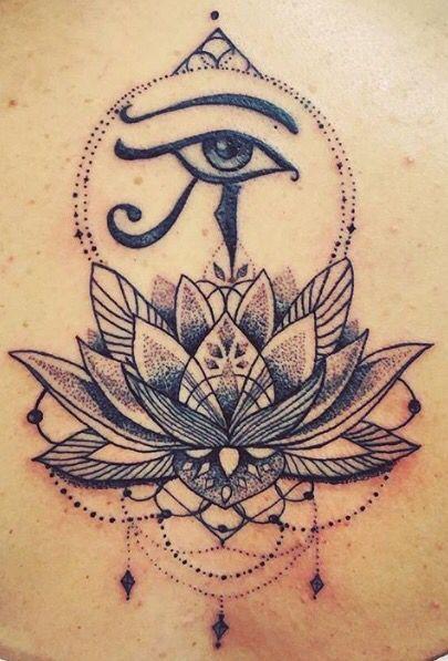Les 25 meilleures id es de la cat gorie tatouages oeil gyptien sur pinterest oeil de ra - Oeil d horus tatouage ...