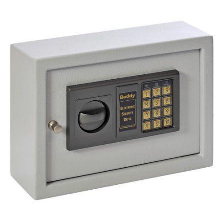 Sandusky Buddy Small Electronic Drawer Safe, Gray