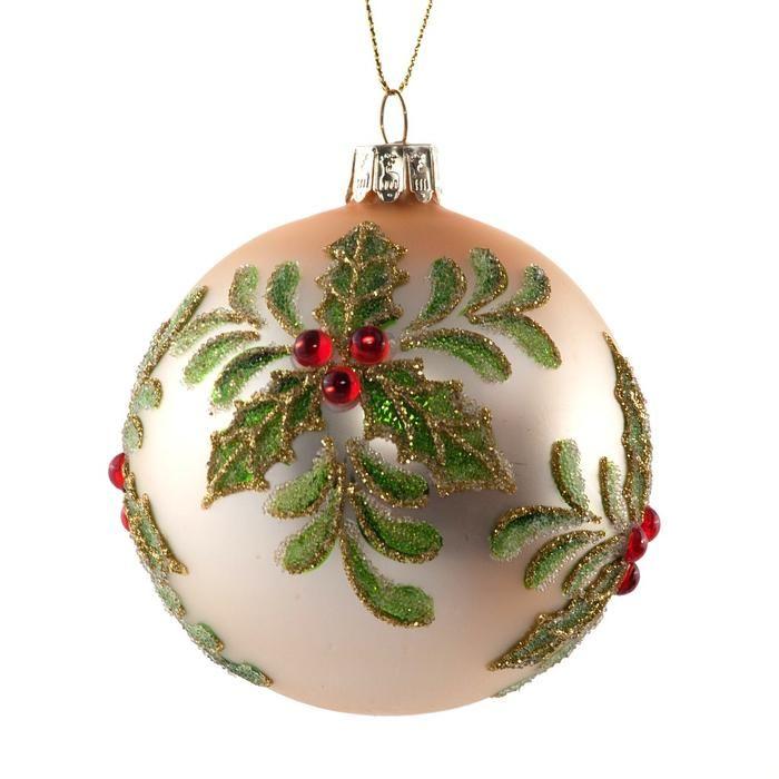 Galeria zdjęć - Ozdoby świąteczne: BOMBKI ręcznie malowane! Ozdoby świateczne w stylu VINTAGE! - zdjęcie nr 1 urzadzamy.pl