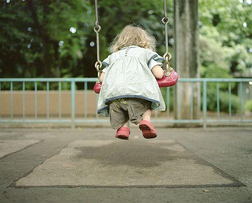 Swinging. :D
