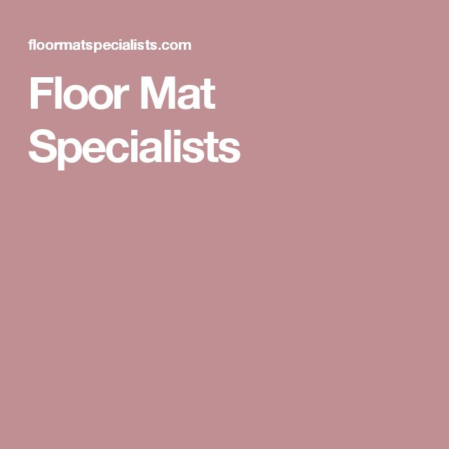 Floor Mat Specialists