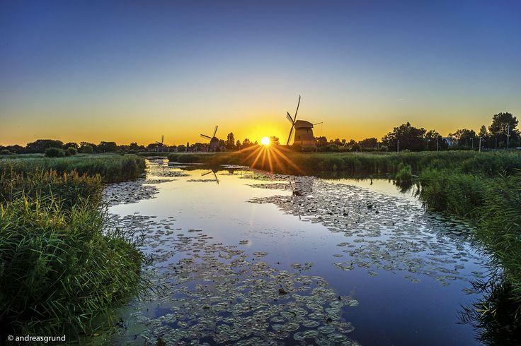 Beautiful Holland by Andreas Grund on 500px.... #Travel #Water #Holland #Windmills #Alkmaar #Netherlands