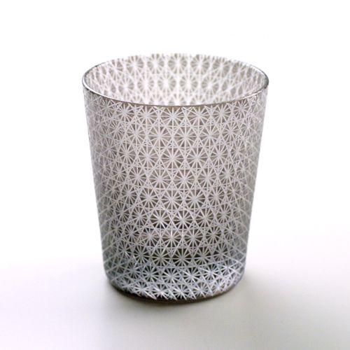 黒被菊繋 切り子グラス #edo #Kiriko