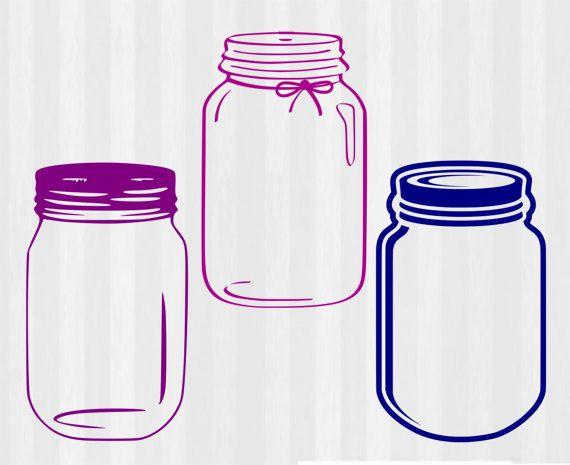 Mason Jar Svg Mason Jar Monogram Svg Svg Files For Cricut
