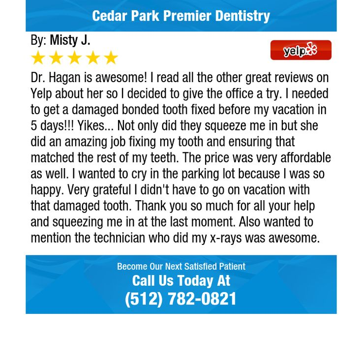 Dr. Hagan is awesome! I read all the other great reviews on Yelp about her so I decided to...