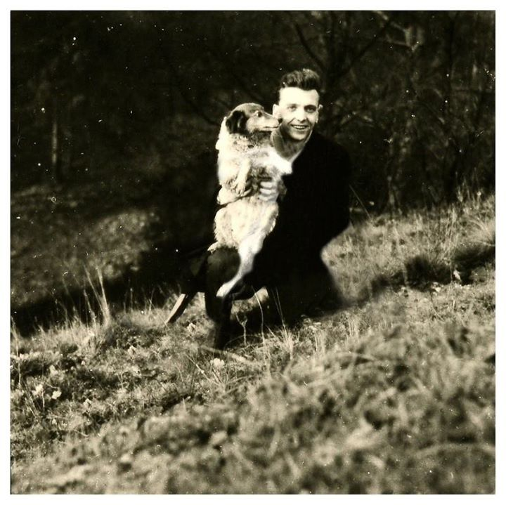 Ted Evans Photography: Ian Brady In Saddleworth Moor With Myra Hindley 's Dog