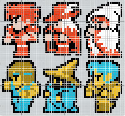 Final Fantasy Cross Stitch Pattern - For some reason, Vivi always reminds me of Branden.