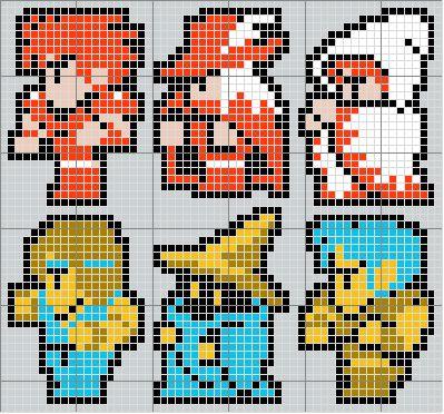 Final Fantasy Cross Stitch Pattern - For some reason, Vivi always reminds me of Branden.