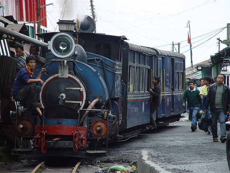 * O Caminho-de-Ferro himalaio * # Darjeeling, Bengala Ocidental. Índia.