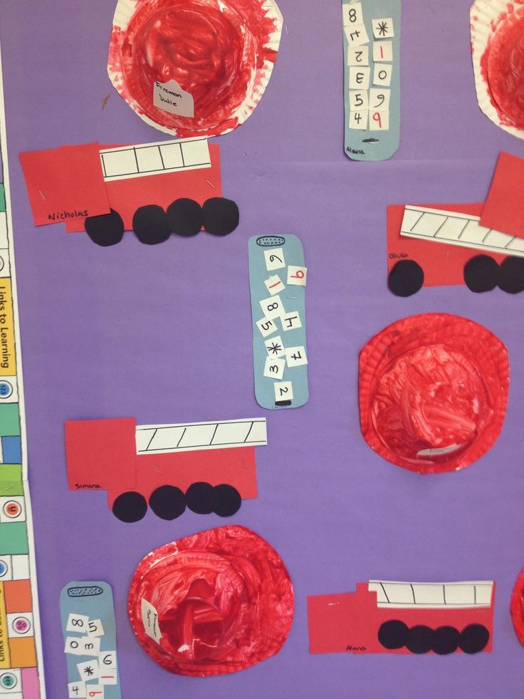 firefighter theme for preschool best 25 fireman crafts ideas on truck 621
