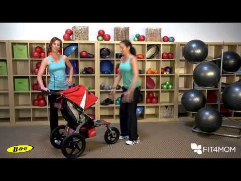 Stroller Squat with Variations – Stroller Strides | BOB Gear Fitness Center for Runners with Jogging Strollers