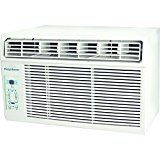 """Keystone KSTAW05C 5000 BTU 115V Window-Mounted Air Conditioner with """"Follow Me"""" LCD Remote Control   2016 energy star: 12.2 energy efficiency Ratio (EER) 5,000 BTU air Conditioner for window-mounted installation Cools a room up to 150 sq. Ft. With dehumidification up to 1.3 pints per..."""
