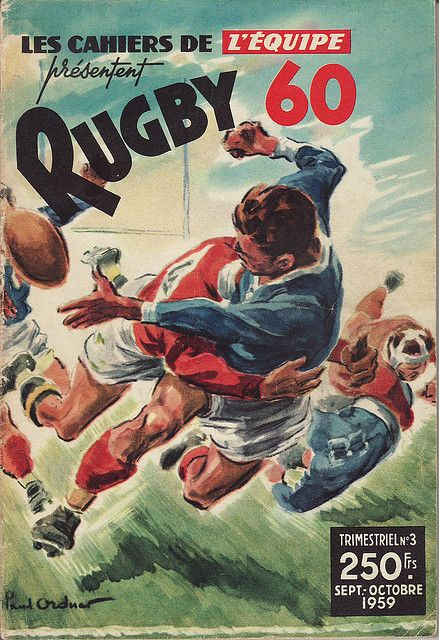 Cahiers de l'Equipe Rugby 1960