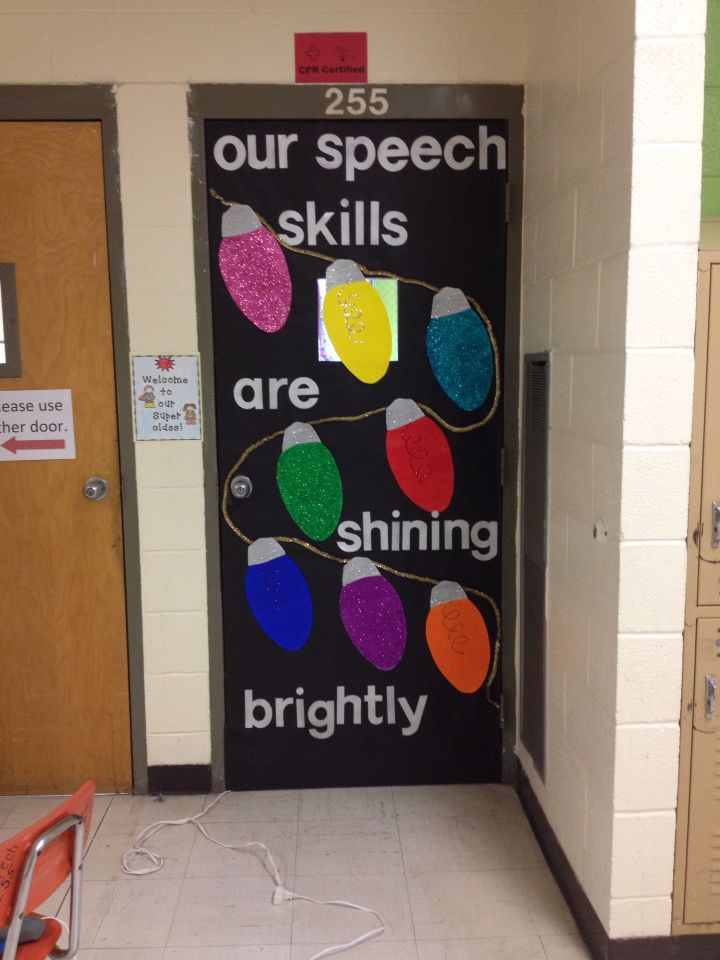 Speech Door Filament And Whole Glittered Christmas Lights