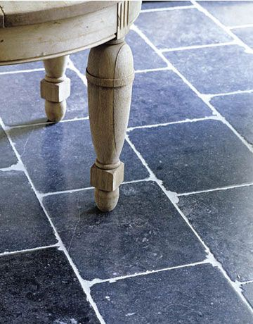 Belgium Style Floor THE FLOOR: Somewhere you'll want a little stone, to simulate the echo of footsteps in a castle.