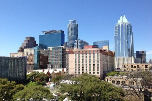 New free stock photo of city skyline hotel