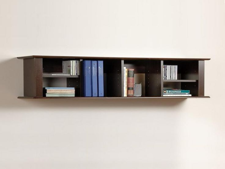 how to make wall mounting bookshelves - Wall Mounted Bookcase