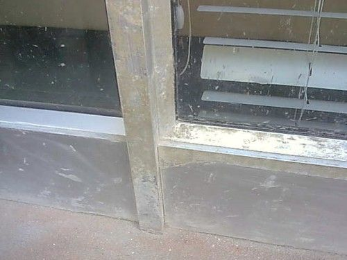 We resurface aluminium window frames.  DON'T REPLACE.  RESURFACE.