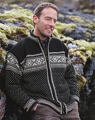 Sweaters in Otra Pattern from Dale Norway
