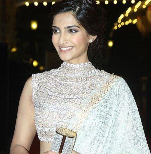 saree neck blouse 2014 - Google Search